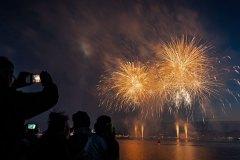 Kieler Woche 2018 Feuerwerk