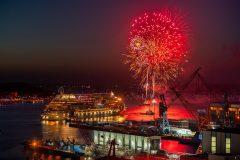 Kieler Woche 2019 Abschlussfeuerwerk