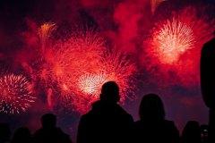 Kieler Woche Feuerwerk 2018