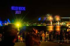 Kieler Woche 2021 Abschlussfeuerwerk